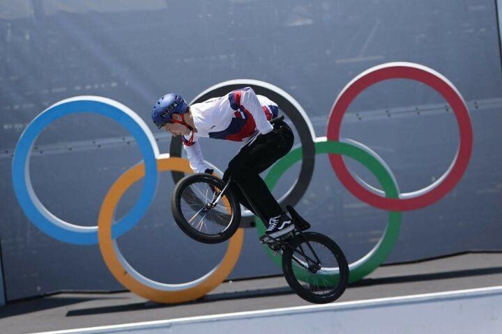 Казанец Ирек Ризаев занял 6-е место в финале олимпийских соревнований по BMX-фристайлу