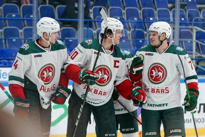Казанский «Ак Барс» одержал победу в первом контрольном матче против «Нефтехимика»