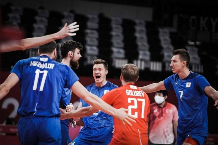 Российские волейбольные команды вышли в четвертьфинал на Олимпиаде в Токио
