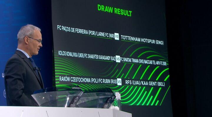 Стал известен соперник победителя пары «Рубин» – «Ракув» в следующем раунде еврокубка