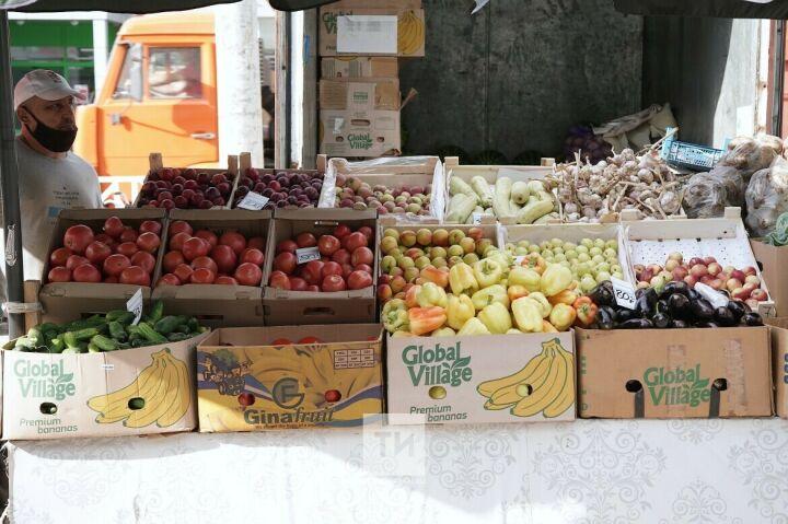 В Казани откроют пять сельхозярмарок со специальными ценами на овощи