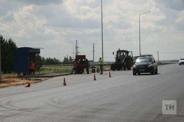 При строительстве дублера Горьковского шоссе в Казани установят шумозащитные экраны