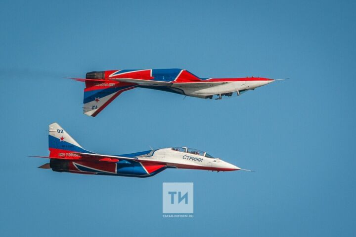 На авиашоу «Я выбираю небо!» в Казани вновь выступят «Стрижи»