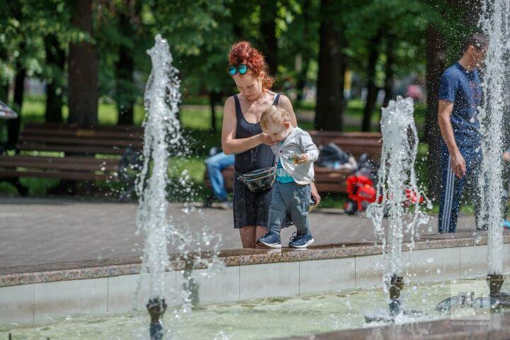 В Казани аномальная жара спадет, погода приблизится к климатической норме
