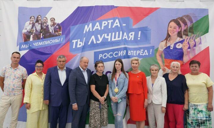 В казанской школе фехтования прошла встреча олимпийцев