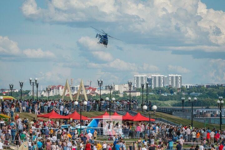 На празднике «Я выбираю небо!» впервые представят моторные лодки и танки