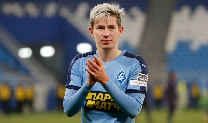 Transfermarkt: «Рубин» может купить Зиньковского на замену Макарову