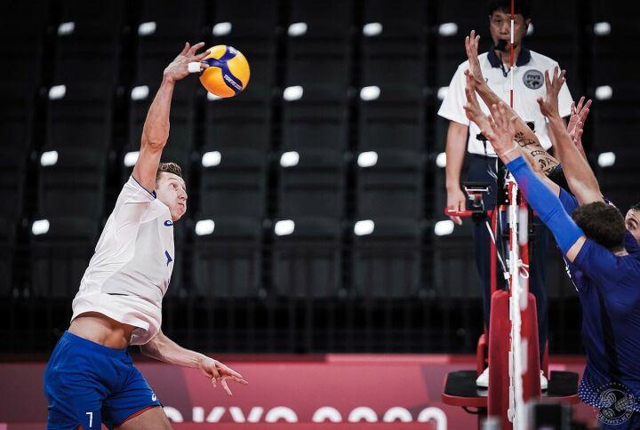 Сборная России сыграет с командой Франции в финале мужского волейбольного турнира в Токио