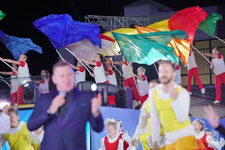 «На стыке двух цивилизаций»: в Казани завершились первые игры стран СНГ