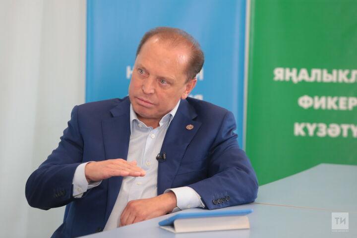 Айдар Метшин об экономике Нижнекамска: «Будем трансформироваться под нужды переработки»