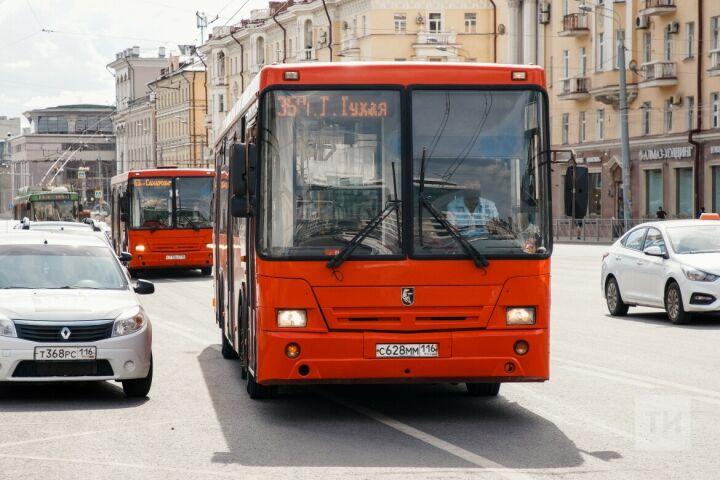 Режим работы общественного транспорта в Казани 19 сентября продлен почти до полуночи