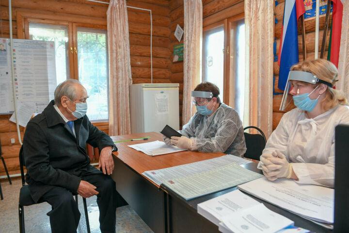 Шаймиев принял участие в выборах депутатов Госдумы РФ