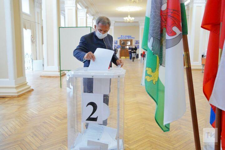 Минниханов проголосовал на выборах в Госдуму РФ