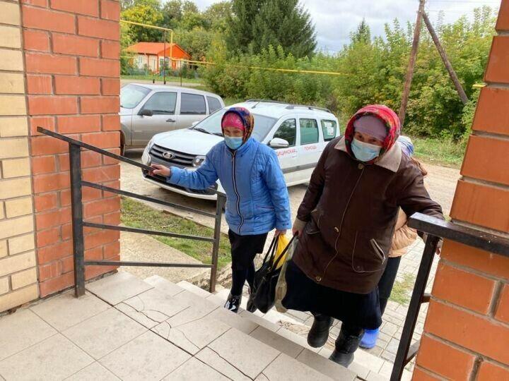 Члены избирательной комиссии сами посетили удаленные деревни в Агрызском районе РТ