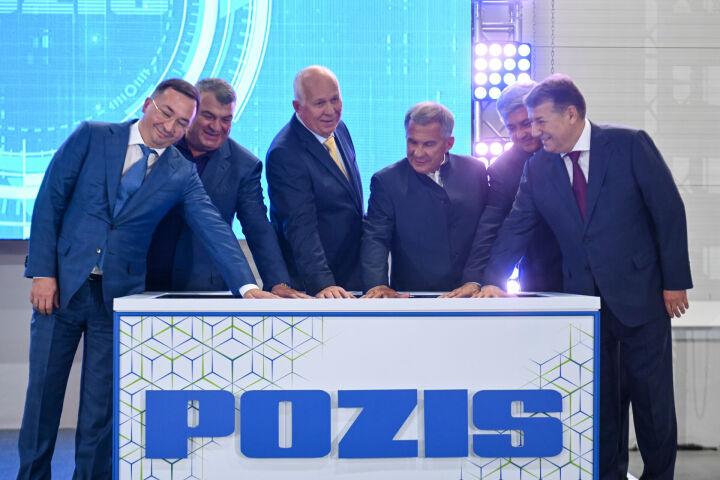 Минниханов и Чемезов запустили в Зеленодольске крупный логистический центр