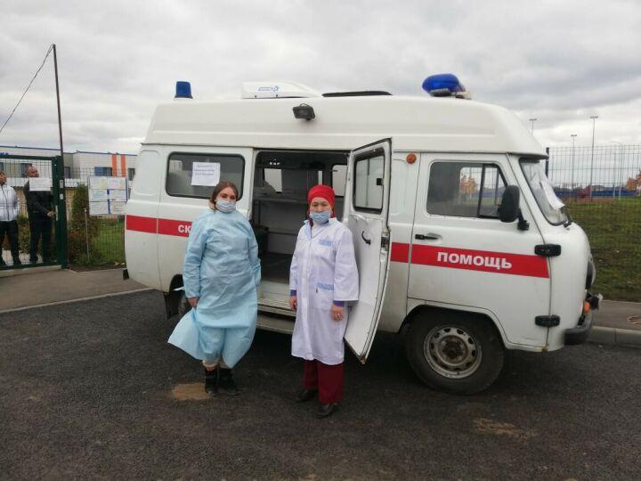 В Пестречинском районе РТ избиратели проходят вакцинацию от гриппа и Covid-19