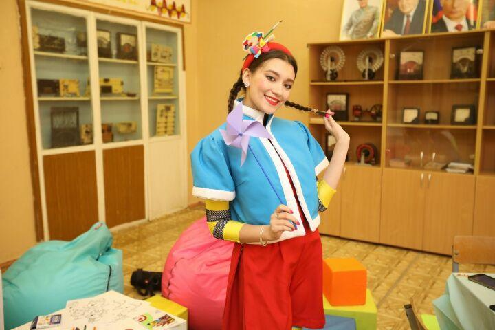 В Казани на избирательных участках работают аниматоры и детские зоны
