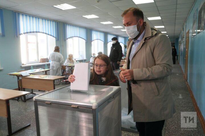 Альмир Михеев проголосовал на думских выборах
