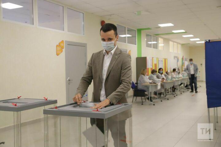 Глава Минмолодежи РТ Тимур Сулейманов: Отмечаем активное участие молодежи в выборах