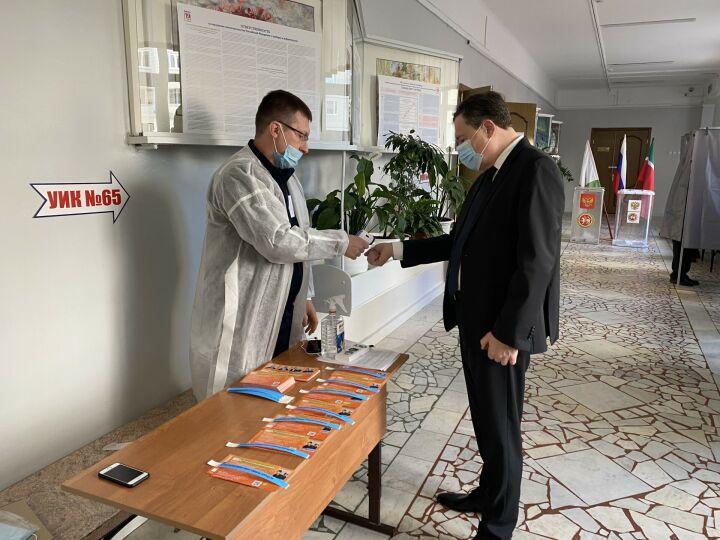 Главный федеральный инспектор по РТ Виктор Демидов проголосовал на думских выборах
