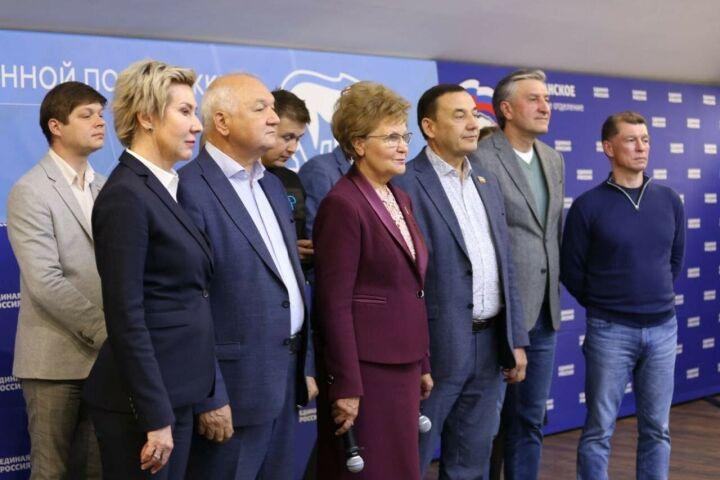 «Единая Россия» поблагодарила избирателей в Татарстане
