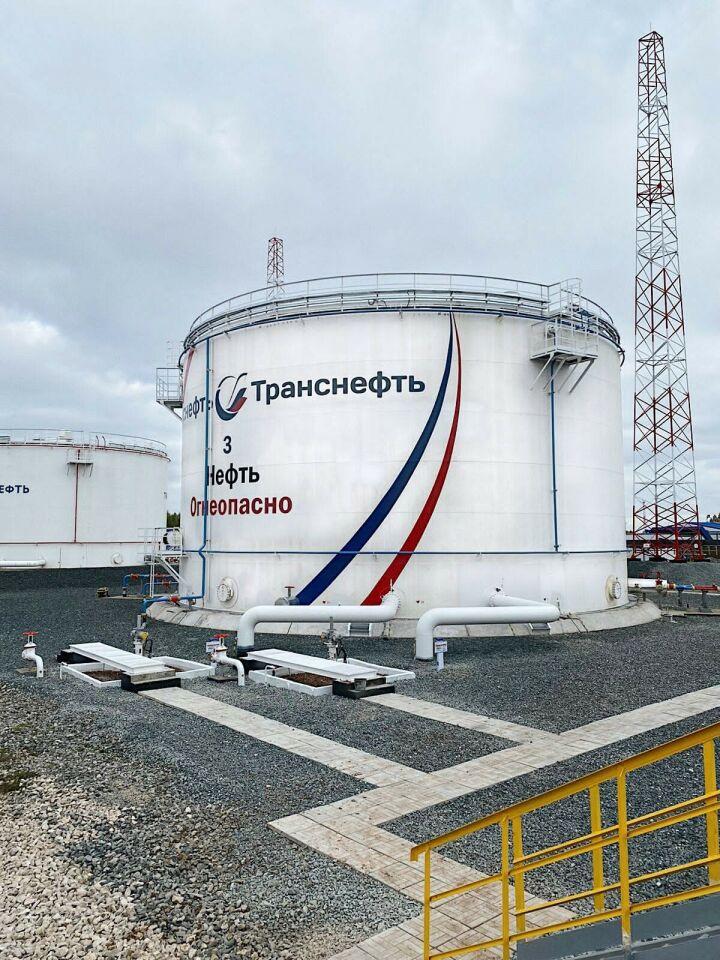 АО «Транснефть – Прикамье» ввело в эксплуатацию нефтяной резервуар
