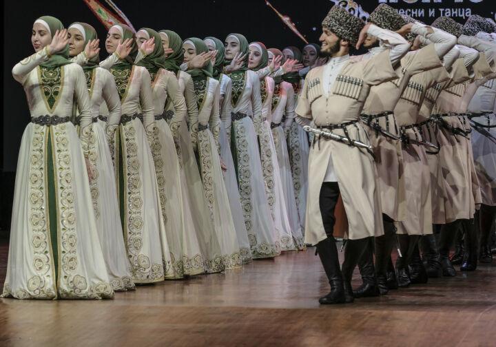 Чеченский ансамбль песни и танца «Нохчо» завершает гастрольный тур по Татарстану