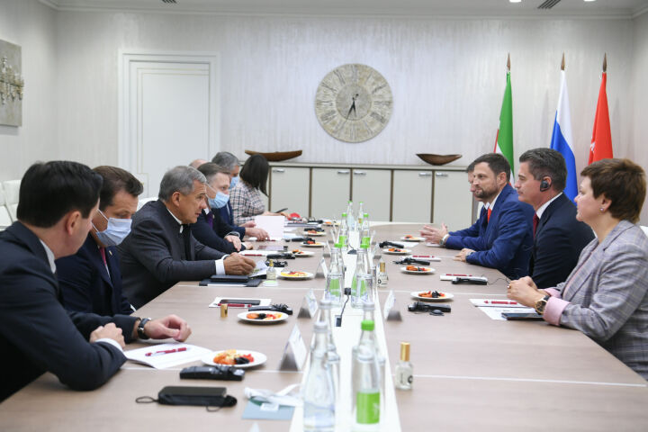 Минниханов и Богданович обсудили поддержку крупных спортивных событий и инклюзии