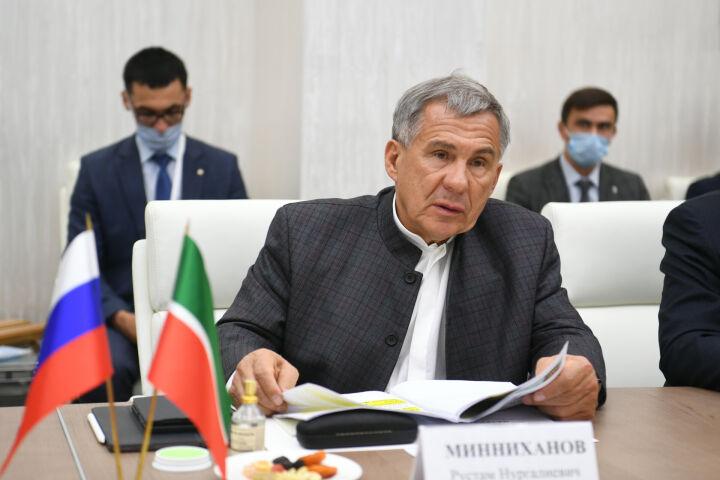 Минниханов и Семашко обсудили экономическое и промышленное сотрудничество РТ и Беларуси