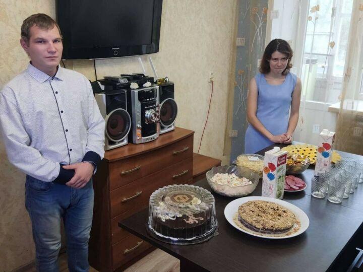 Участники пилотного проекта неврологического интерната сыграли новоселье в Зеленодольске