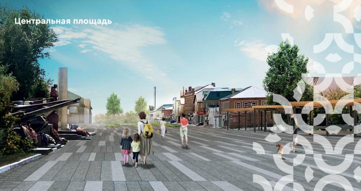 Благоустройство Центральной площади Буинска завершится в 2022 году