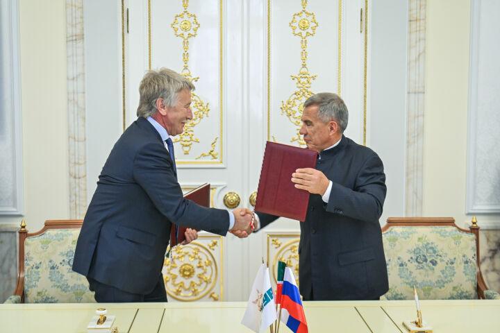СИБУР договорился о сотрудничестве с Татарстаном