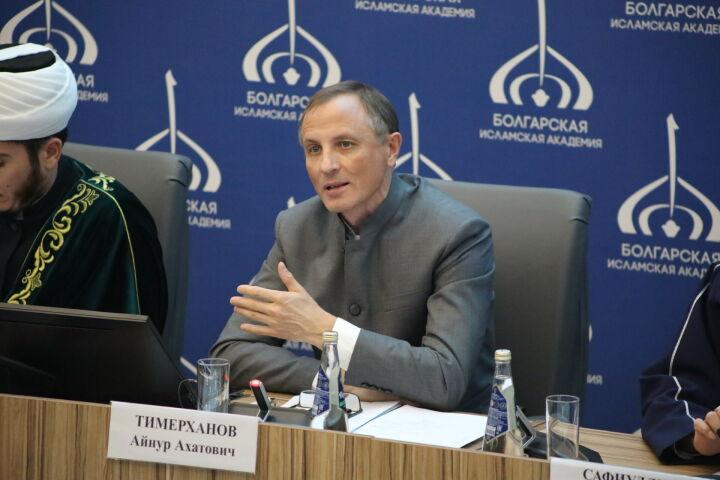 Айнур Тимерханов: Теологическое образование способствует укреплению гражданского мира
