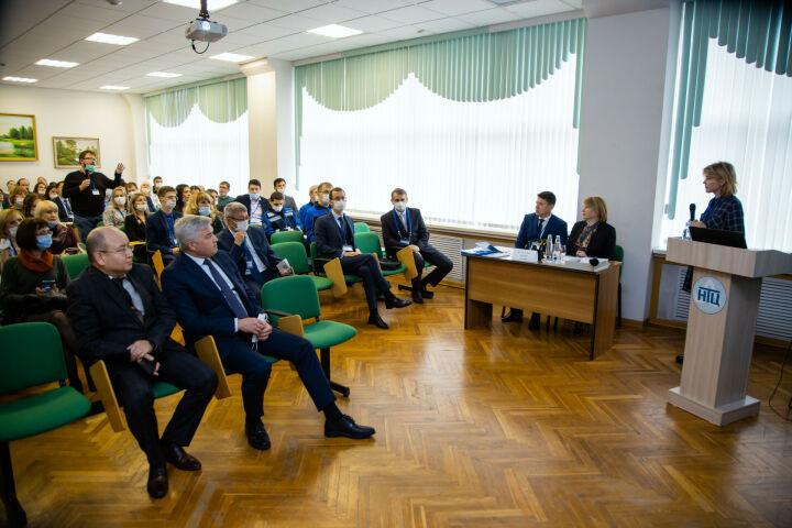 В ПАО «Нижнекамскнефтехим» проходит конференция молодых ученых