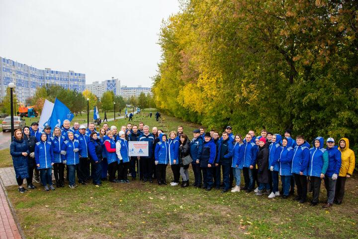 В нижнекамском парке Нефтехимиков появилась первая в городе аллея из каштанов