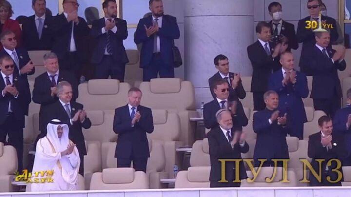 Минниханов и Когогин стали гостями парада в честь 30-летия независимости Туркменистана