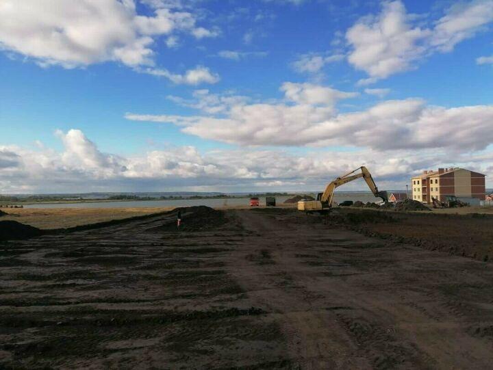 В Алексеевском районе Татарстана началось строительство Ледового дворца