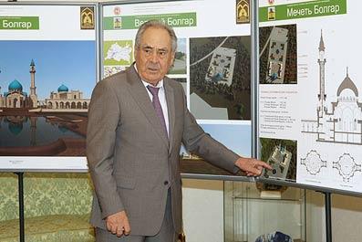 Госсоветник РТ отметил, что бюджетное финансирование на реализацию проекта возрождения Болгара и Свияжска...