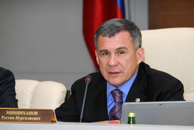 Президент Татарстана иногда ездит на работу на велосипеде и не может уговорить мэра Казани обустроить велодорожки Minnihanov(18)