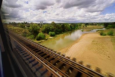 """фото  """"Из окна поезда """" метки: разное, путешествия, Австралия. фото  """"Из окна поезда """" ."""