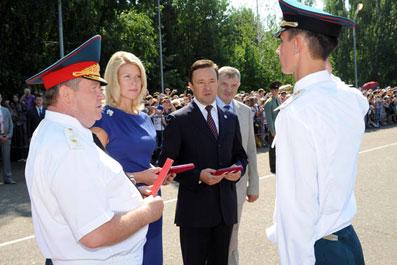 Казанскому высшему военному командному училищу (более известному как танковое) в этом году исполняется 90 лет