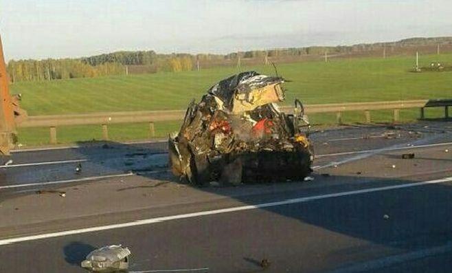авария 3 фуры м7