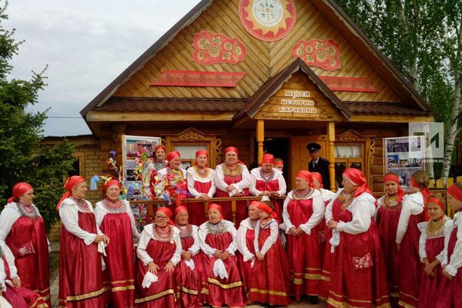 В Никольском развернулись русские народные гулянья «Каравон»