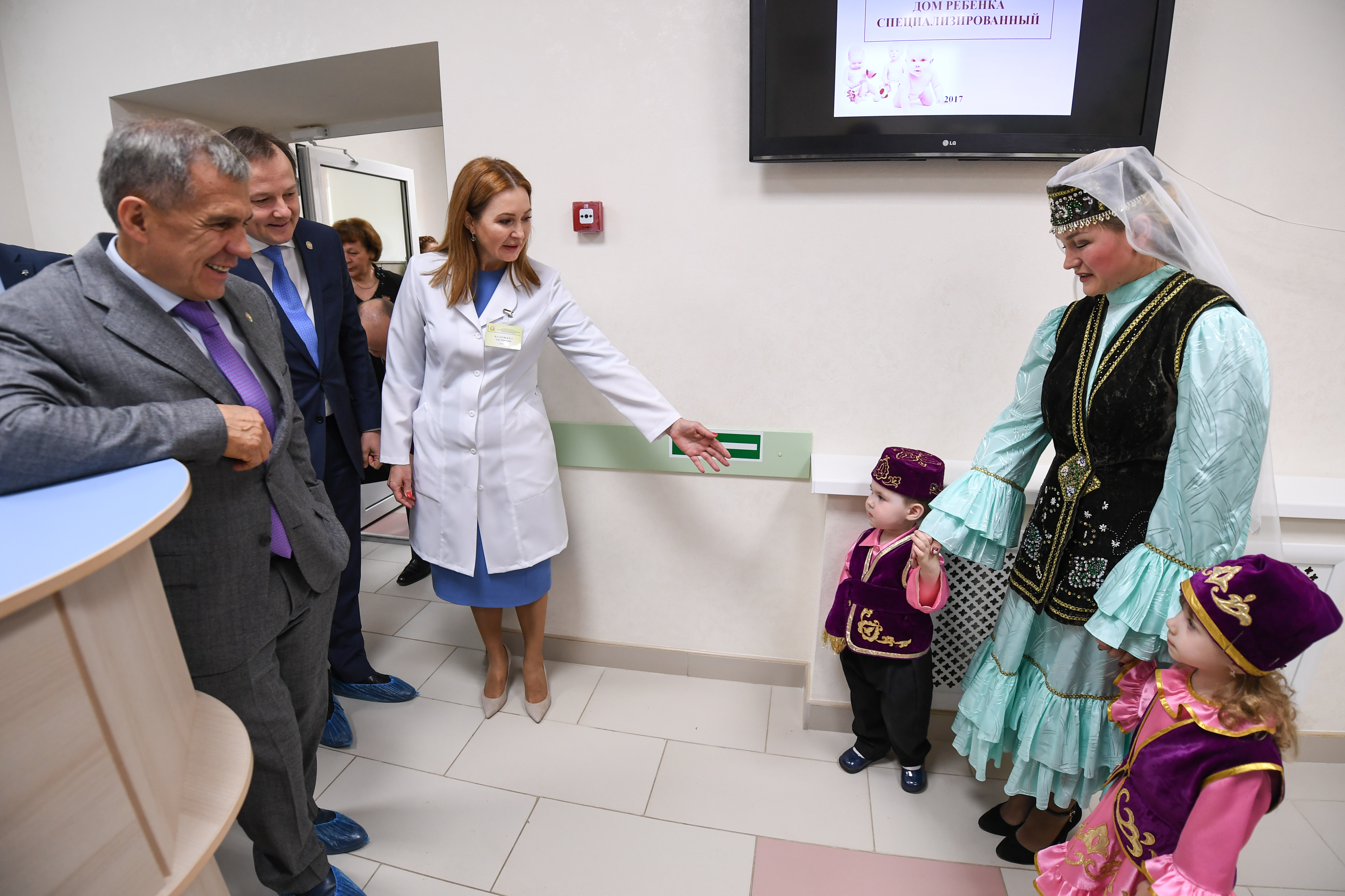 Дети президента татарстана фото
