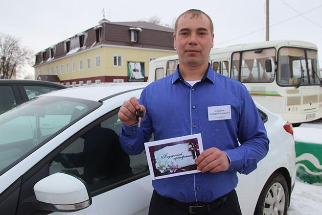 Передовик из Буинского района получил ключи от «БМВ-525»