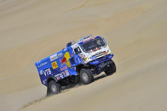 Экипаж Николаева победил навтором этапе ралли-марафона «Дакар» взачете фургонов
