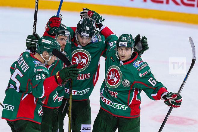 ХК «АкБарс» одержал победу вРиге у«Динамо» впервый раз с2013 года