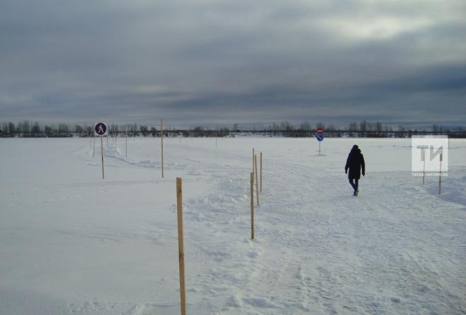 Через неделю вТатарстане закроют ледовые переправы