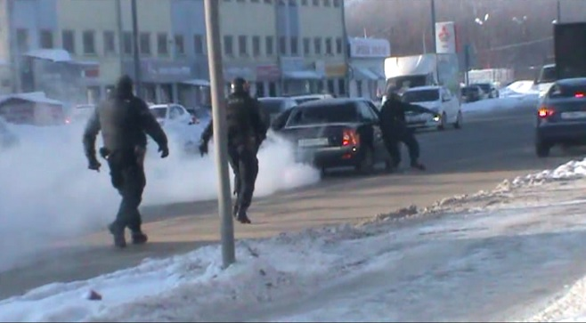 НаГорьковском шоссе уБахетле устроили стрельбу при задержании рэкетира