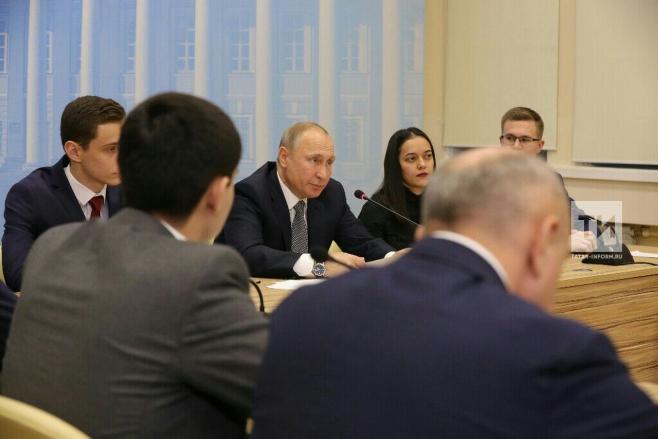 Студенческие объединения институтов должны напрямую работать сработодателями— Путин